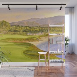 Pebble Beach Golf Course Holes 9 and 10 Wall Mural