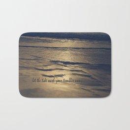 Golden Tide Bath Mat