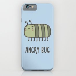 Angry Bug iPhone Case