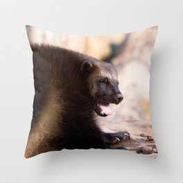 Gulo Gulo Throw Pillow