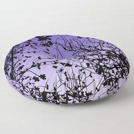 Violet sky Floor Pillow