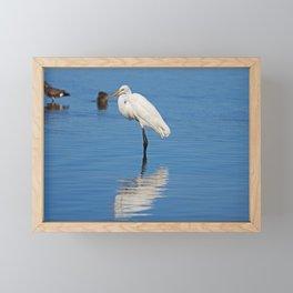 Once on a Wednesday Framed Mini Art Print