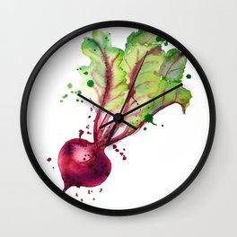 Juicy beet Wall Clock
