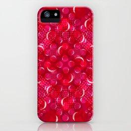 Burbujas de cereza 40x40 Glojag iPhone Case