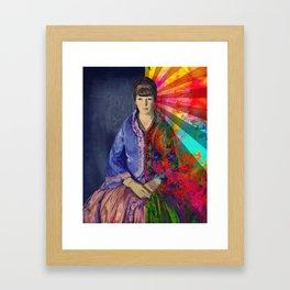 The Inner Self Framed Art Print