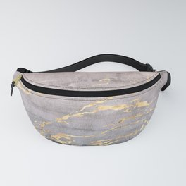 Watercolor Gradient Gold Foil IV Fanny Pack