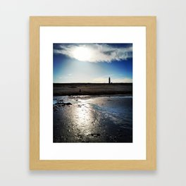 Low Tide at Dusk Framed Art Print