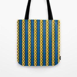 Gold Chain Curtain Tote Bag