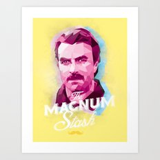 The Magnum Art Print