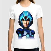 megaman T-shirts featuring Megaman wolowitz by seb mcnulty