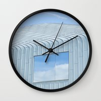 architecture Wall Clocks featuring Architecture by Mark Spence