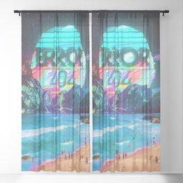 Error 404 Sheer Curtain