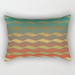 Fire in the woods Rectangular Pillow