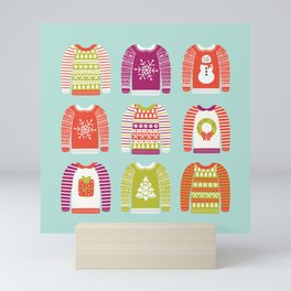 Ugly Christmas Sweaters Mini Art Print