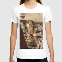 kitchen T-shirts featuring Chaotic Kitchen by Shaun Lowe