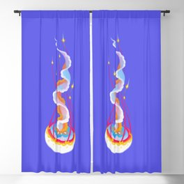 Jellyfish Blackout Curtain
