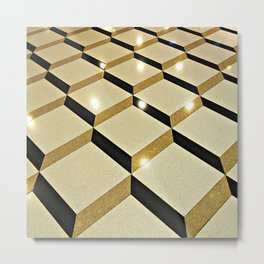 Take the Floor Metal Print