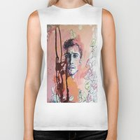 james franco Biker Tanks featuring James Franco by Katarzyna Typek