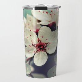 Cherry Blossom, Cherryblossom, Sakura, Vintage Style Travel Mug
