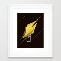 pocket fuel Framed Art Prints featuring FUEL by Pedro A Ribeiro