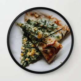 Pizza Delight Wall Clock