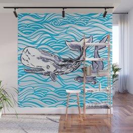 Underwater Best Friends Wall Mural