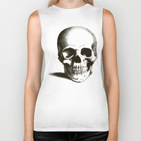 fig Biker Tanks featuring Fig 1.1 by Steal This Art