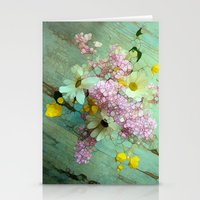 country Stationery Cards featuring country flowers by Joke Vermeer