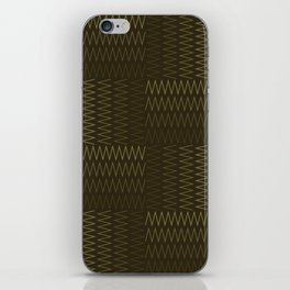 ZigZag with Complementary Color iPhone Skin