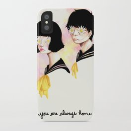 You are always home iPhone Case
