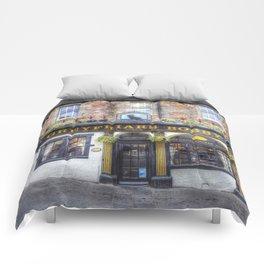Greyfriars Bobby Pub edinburgh Comforters