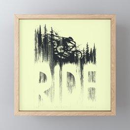 Ride and Drop Framed Mini Art Print