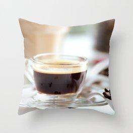 Fresh Espresso Throw Pillow
