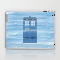 TARDIS Under the Sea - Doctor Who Digital Watercolor Laptop & iPad Skin