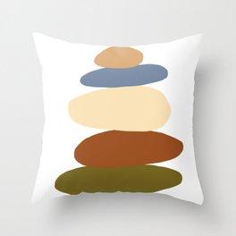 Balanced 3 Throw Pillow