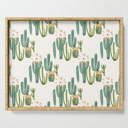Cactus Desert Serving Tray