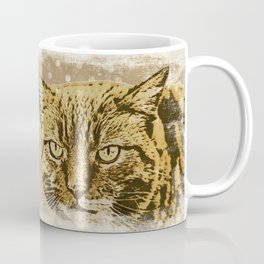 F*ck you.  I am a cat, grumpily Cat with funny Quote Coffee Mug