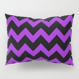 Purple Chevron Pillow Sham