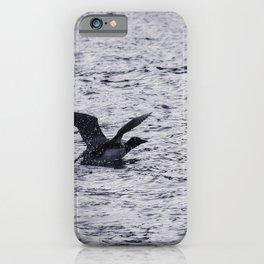 Loon Landing iPhone Case