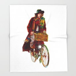 Bicycle Who Throw Blanket