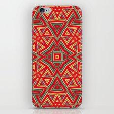 Aztec Sunshine Pattern iPhone Skin