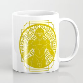 Stained Glass - Dragonball - Golden Frieza Coffee Mug