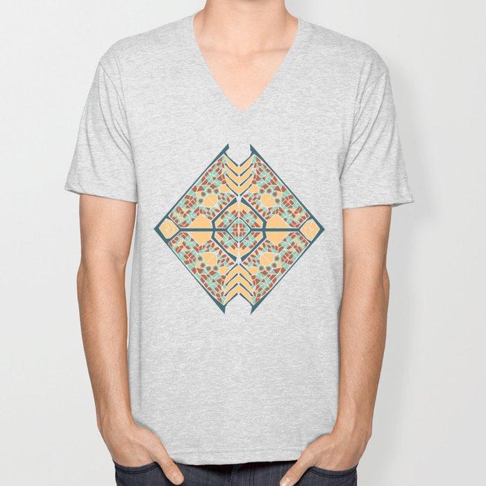 Vector Mandala Unisex V-Neck