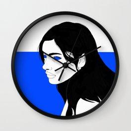 Ocean Eyes 1 Wall Clock