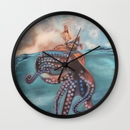 Illusory Island Wall Clock