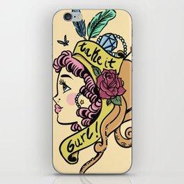 Take it, gurl! iPhone Skin