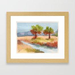 Ranch Palms Framed Art Print
