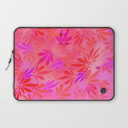 Blush Cannabis Swirl Laptop Sleeve