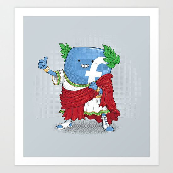 The Caesar and 42000 more Romans in the circus like this Art Print