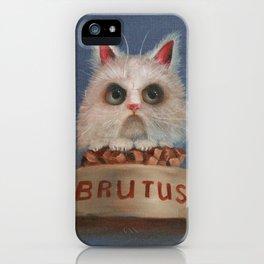 Brutus iPhone Case